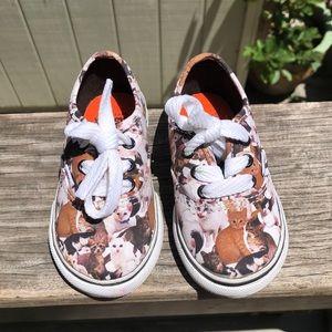Vans ASPCA toddler cat shoes